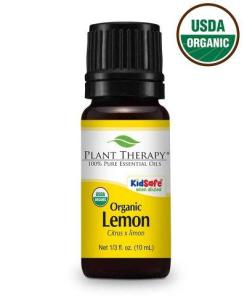Plant Therapy - Lemon ORGANIC Essential Oil