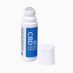 CBD Living - Freeze - Roll-On Pain Reliever **Easy Application**. CBD living near me. CBD near me.