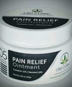 CBD Clinic Level 5 Clinical Strength - Pro-Sport Pain Stick with 16% menthol, 11% camphor - Revolutionary Pain Relief for arthritis, joint pain, muscle pain, doctor recommended