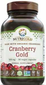 Nutrigold - Cranberry Gold