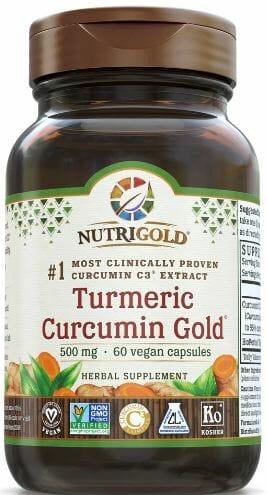 Nutrigold - Tumeric Curcumin Gold 60 c