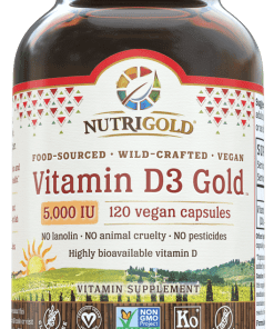 NutriGold Vitamin D3 Gold 5,000IU