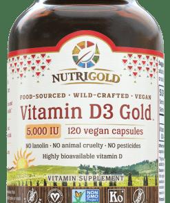 NutriGold Vitamin D3 Gold 5,000IU