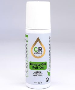 Clean Remedies Topical Roll On 450mg. Vegan Full Spectrum Hemp Extract Oil along with menthol, arnica, and a proprietary blend of essential oils. Helps get relief from arthritis, fibromyalgia, inflammation, pain, and can even improve sleep!