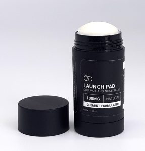 Infinite CBD Launch Pad. CBD pet product. CBD pad and nose salve. 100mg