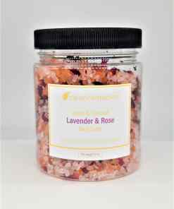 Clean Remedies Lavender & Rose Bath Salts
