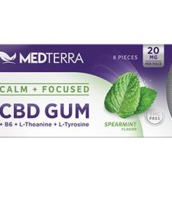 Medterra Calm + Focused CBD Gum