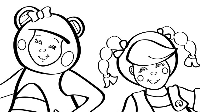 Rig-a-Jig-Jig - Coloring Page - Mother Goose Club