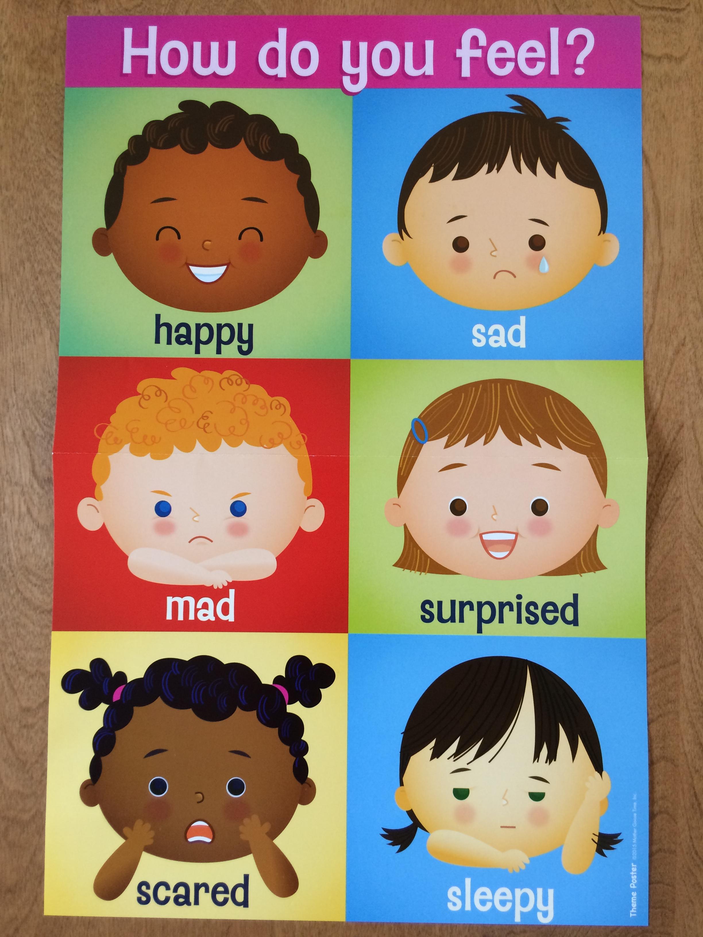 Emotion Faces For Preschool