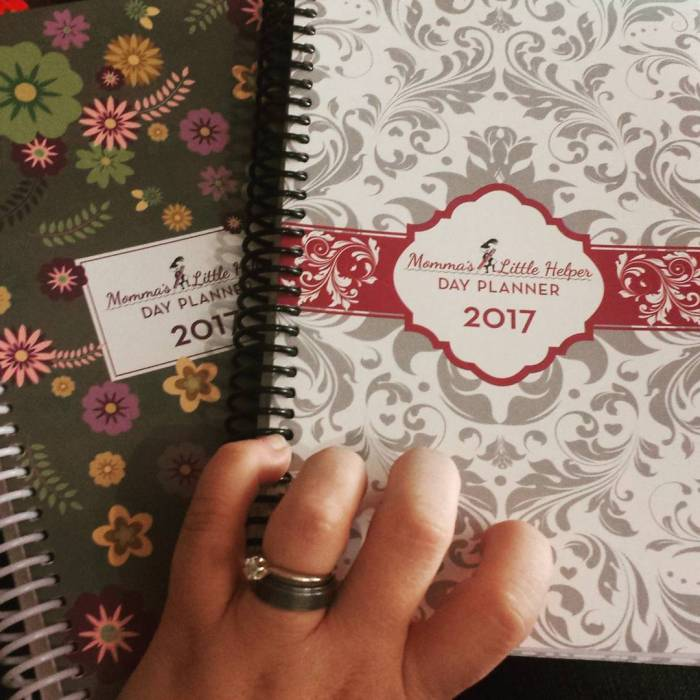 Hey all! If you're looking for a new planner for next year, I just received these free for review from Momma's Little Helper and I honestly love them! I need a paper planner, or two, in my life and these are perfect for busy mommas! #mommaslittlehelper @mommaslittlehelper