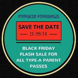 Type-A Parent Sale - Motherhood and Beyond