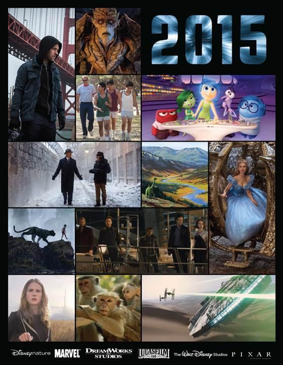 2015 Walt Disney Pictures Movie Releases