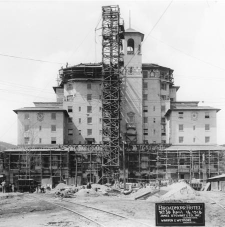 Broadmoor Construction- 1918
