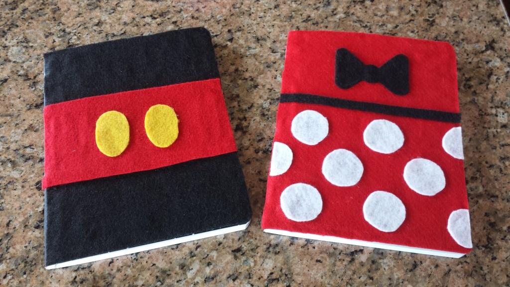 Disney Craft Notebooks