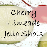 Cherry Limeade Jello Shots