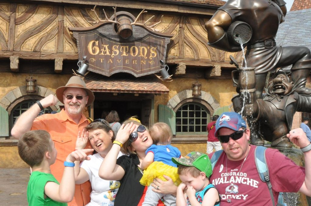 Disney Dining - Gaston's Tavern