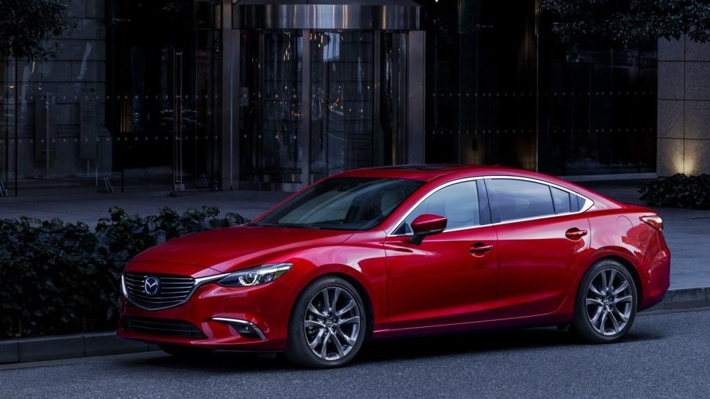 2017 Mazda6 - Mazda press event