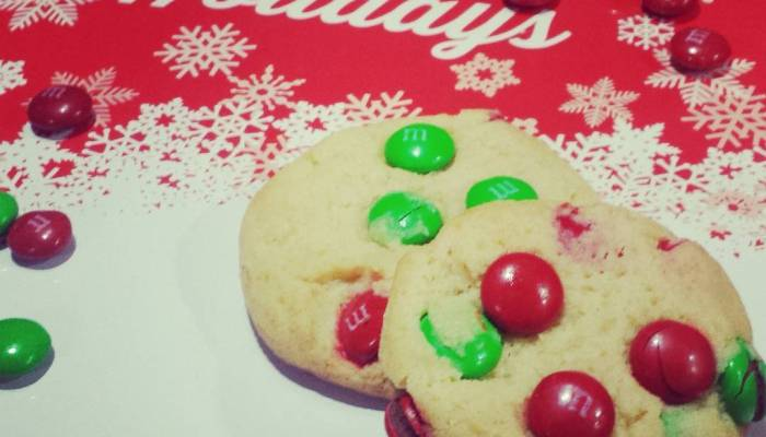 Perfectly Delicious M&M's Cookies – #Recipe