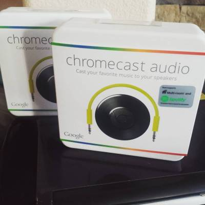 Spring Cleaning Smart With Google Chromecast Audio at Best Buy