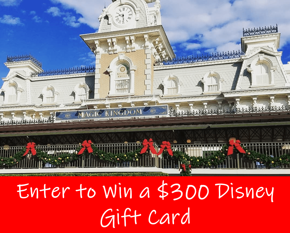 12 Blogs of Disney Christmas Gift Card Giveaway · Enter to WIN!!