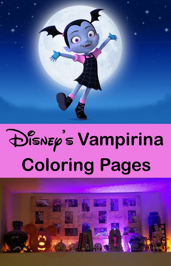 Your little ghouls and ghosts will love these Vampirina Coloring Pages!