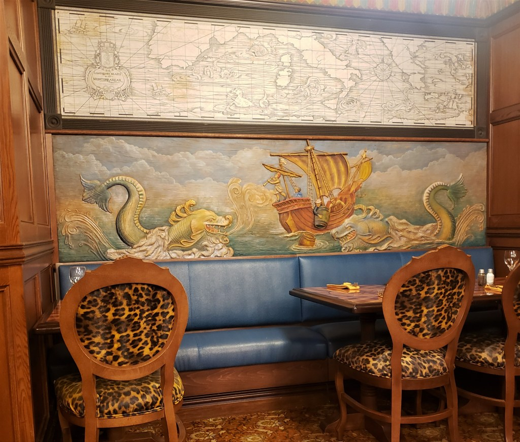 Jungle skipper canteen map room pineapple tropical serenade sangria