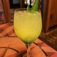 Frosty Pineapple Tropical Serenade Sangria - Disney Drink of the Day