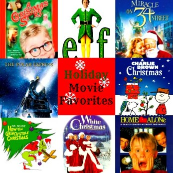 Holiday Movie Favories and 25 Days of Christmas