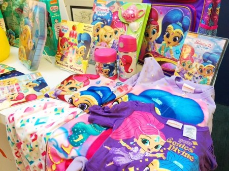shimmer and shine christmas