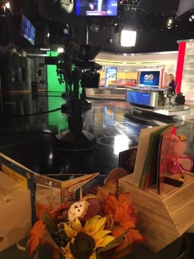CBS2 KCAL9 Set