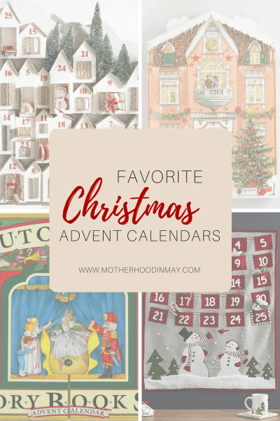 favorite christmas advent calendars