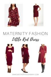 Little Red Dress & 18 Week Bumpdate