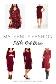 Little Red Dress & 18 Week Bumpdate
