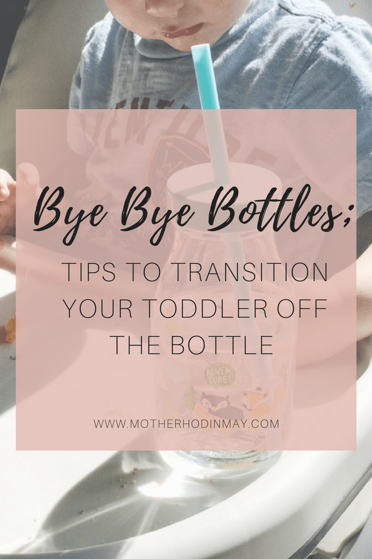 bye bye bottle