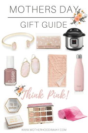 Mothers Day Gift Guide: Think Pink!