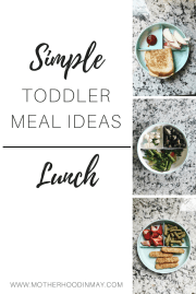 Toddler Meal Ideas: Lunch