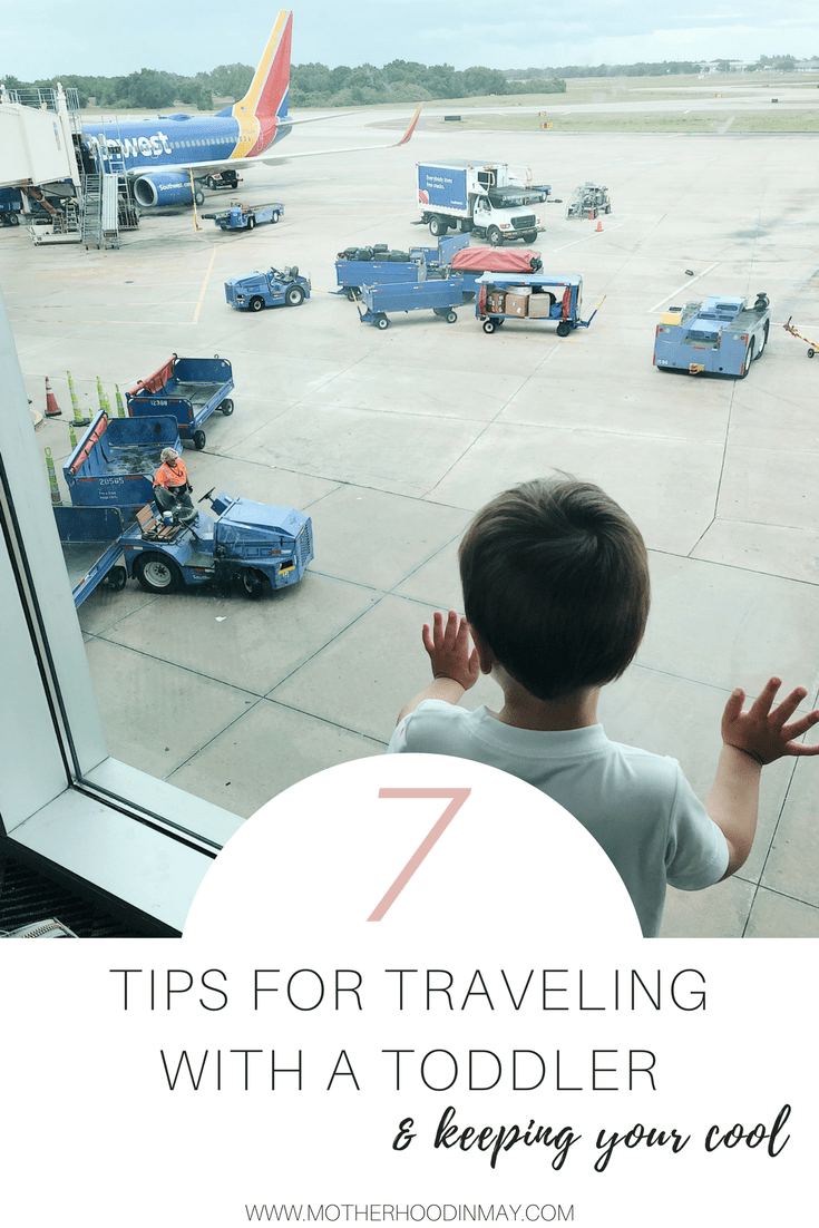 travel with toddler