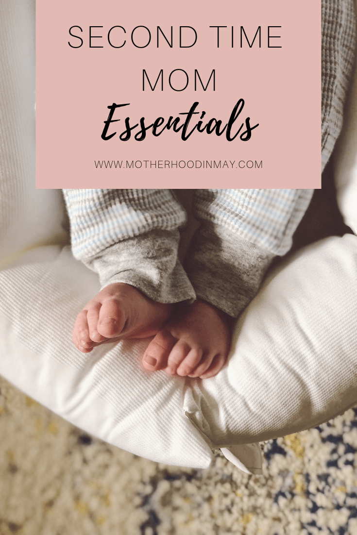 second time mom essentials pin