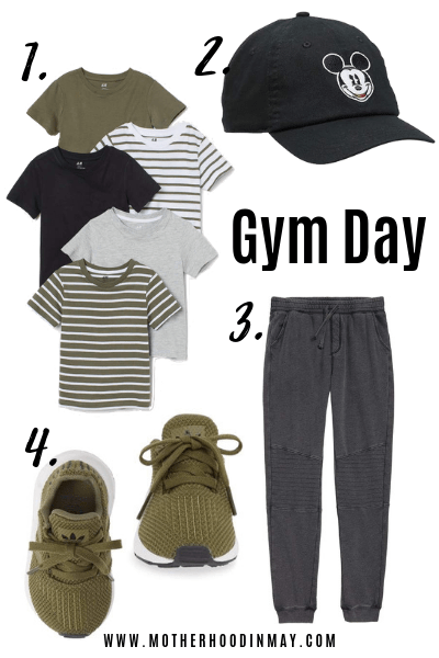 Back to School: Gym Day Outfit