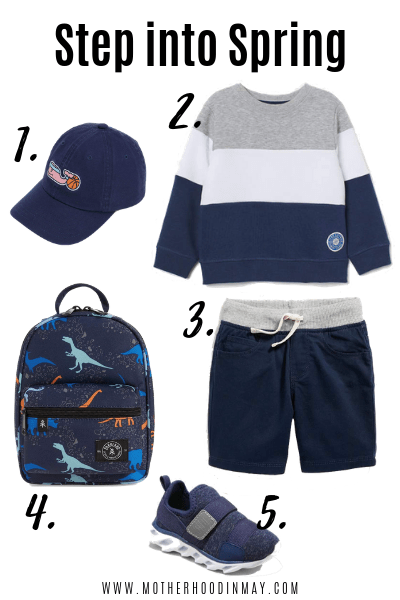 Back to School Outfit for Toddler Boys