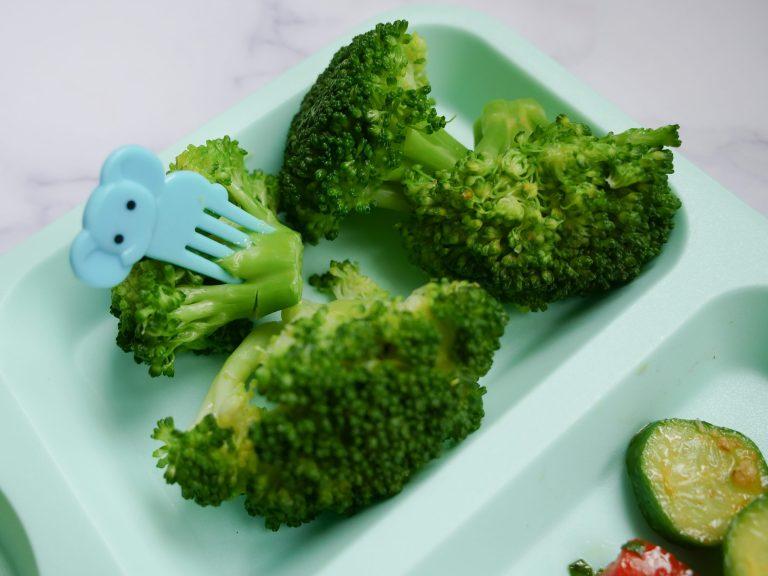 fun utensil on veggies