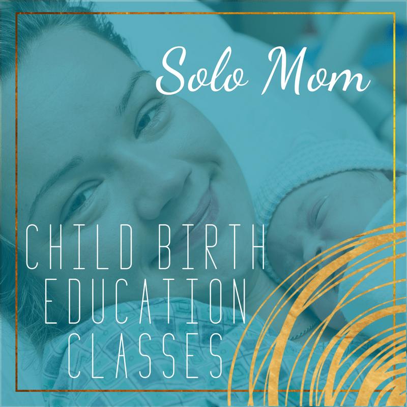 single mom childbirth education class