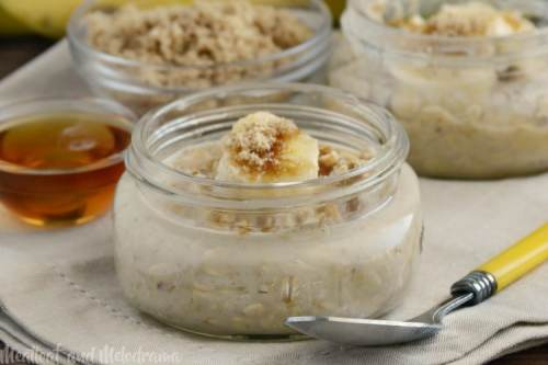 Maple Brown Sugar Overnight Oats-meatloafandmelodrama.com