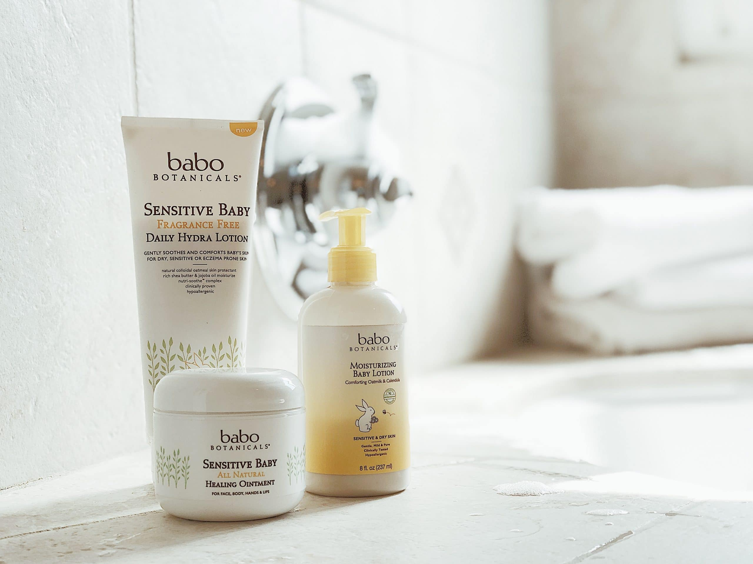 Baby + Toddler Sensitive Skin Care Routine