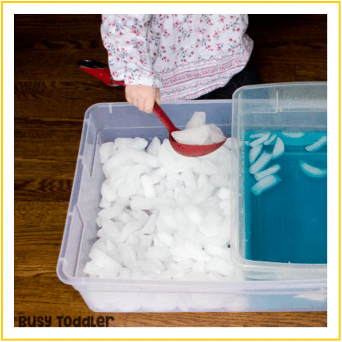 ICE BIN TRANSFER-20 OF THE BEST SUMMER ACTIVITIES FOR TODDLERS