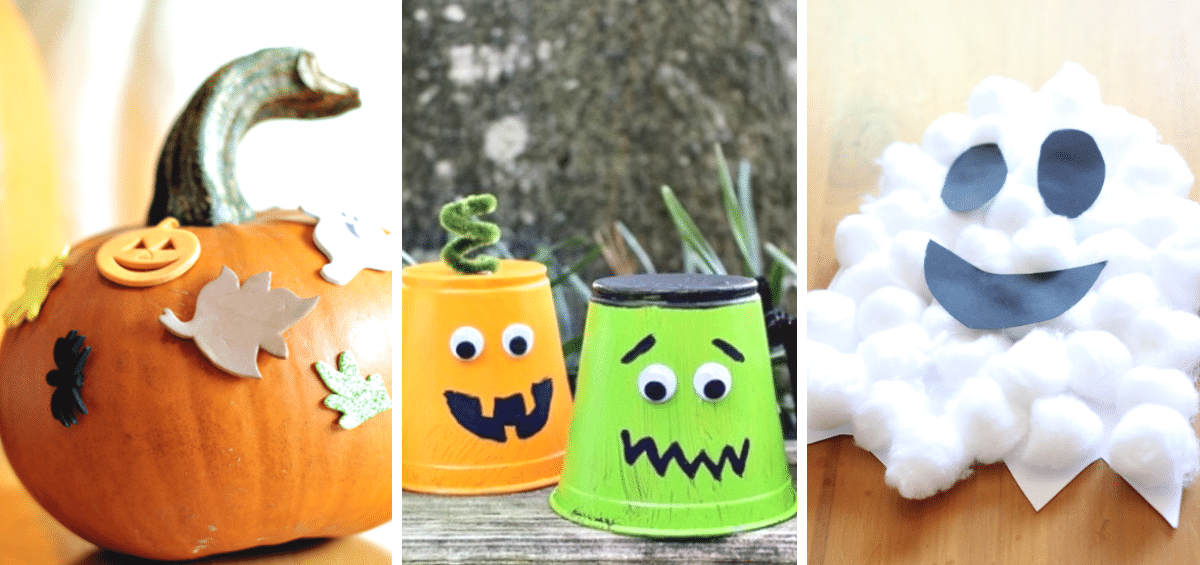40 FUN HALLOWEEN CRAFTS FOR TODDLERS
