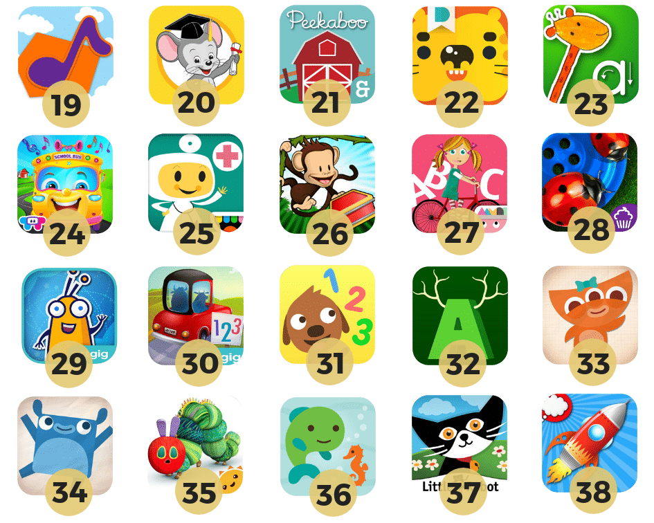 Best Paid Educational Apps for Toddlers