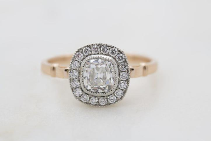 customising your own engagement or wedding ring
