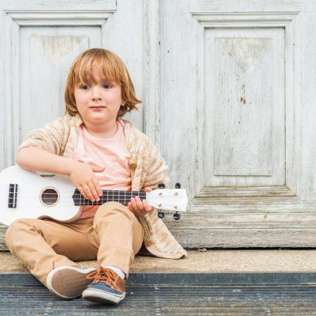 playing the ukulele boost your child's creativity