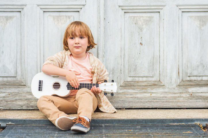 playing the ukulele boosts your child's creativity